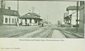 Newcomerstown OH The Union Station And Freight Depot