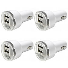 4 Pack USB Car Charger Adapter 2.1A For iPhone 4 5 6 7 Plus LG HTC Samsung Phone