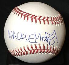 Macklemore Rapper/Singer Signed OML Baseball JSA Authenticated