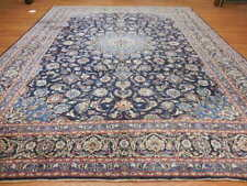 1950 Classic Antique Naein Nain Habibiyan Esfahann Design 10x13 Estate Sale Rug