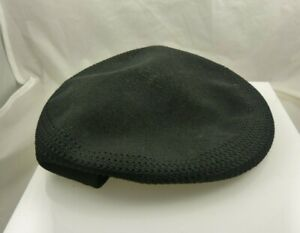 Black Summer Mesh driving Hat Kangol Golfers Hat small gently used