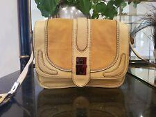 Mimco Handbags Designer Yellow/Mustard Chic Bag Womens