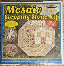 Mosaic Stepping Stone Kit Sealed Great Condition Free Shipping!