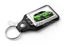 WickedKarz Cartoon Car Vauxhall Corsa MK3 VXR Nurburgring Green Key Ring