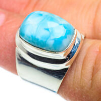 Larimar 925 Sterling Silver Ring Size 6 Ana Co Jewelry R41398F