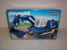 Playmobil THW Ketten Bagger Exklusiv Set Kaufhof 5093 5094 5095 5096 Neu Ovp