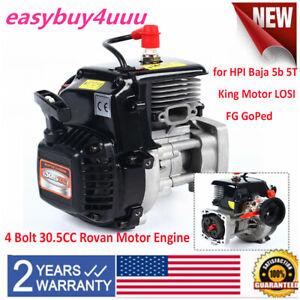 4 Bolt 30.5CC Rovan Motor Engine for HPI Baja 5b 5T King Motor LOSI FG GoPed US