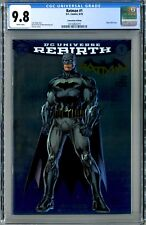 Batman #1 Rebirth (DC 2016) CGC 9.8 Jim Lee Foil Comicon Edition! Hot!