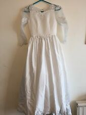 Girls White First Holy Communion Dress Age 10 Years/ Italian Sweetie Pie Lace