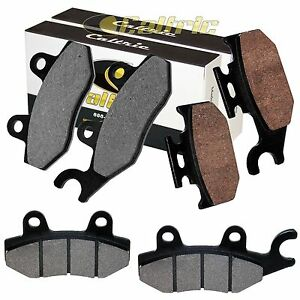 Front And Rear Brake Pads for Yamaha Rhino 660 YXR660F YXR 660F 2004-2007