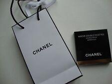 CHANEL Compacto Espejo Maquillaje Duo Nuevo Y En Caja Original & Chanel Bolsa De Regalo-Auténticos