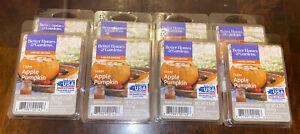 New 8 Pack Better Homes Gardens Farm Apple Pumpkin Wax Melt Cubes 2.5oz Each