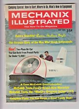 Mechanix Illustrated Magazine May 1969 Air Car Build - Evinrude motor ad on back