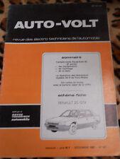 AUTO-VOLT n° 601 1985 - Renault 25 GTX