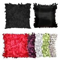 Leaves Feather Pillow Cases Home Decor Square Pillow Throw Cover Cases Cushion