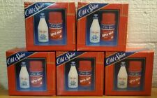 5 pack NOS 3355 Men's After Shave Old Spice 2 1/8 oz. & 3 oz shaving cream Box