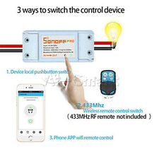 Sonoff RF Wifi With 433 Function Of Remote Control WiFi Wireless Switch Module A