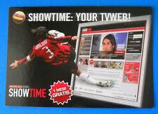 CARTOLINA PROMOCARD N.7849 - MILAN SHOWTIME - MALDINI - SHOWTIME: YOUR TVWEB!