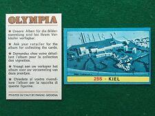 OLYMPIA 1972 n. 255 KIEL , Figurina Sticker Panini (NEW)