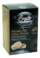 Bradley Smoker 613002-SSI Bradley Whiskey Oak Special Edition Bisquettes 48-p...