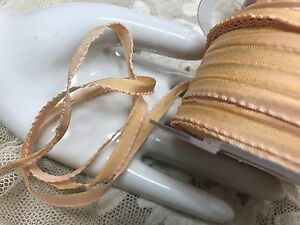 Ombre Shaded Lettuce Edge Ribbon Flower Making 1yd Made in France