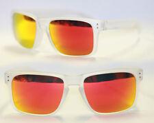 Sport Sonnenbrille Herren matt transparent rot blau gold grün verspiegelt 751