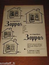 *91=ZOPPAS FRIGORIFERO=ANNI '50=PUBBLICITA'=ADVERTISING=WERBUNG=PUBLICITE=