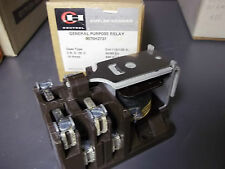Cutler Hammer 9575H2737 General Purpose Relay 10 Amp 600 VAC New Old Stock