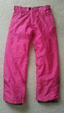 BODY GLOVE Pink Insulated Snow Ski Snowboarding Pants Girls Size 12, NWOT