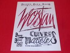 [Coll. R-JEAN MOULIN ART XXe] WOSTAN (POL) AFFICHE LARA VINCY 1961 LITHO T.Rare!