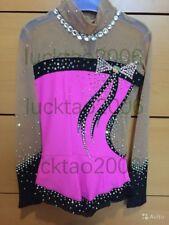 2018 new style Girl Rhythmic Gymnastics Leotards  Ice Figure Skating Dress 91006