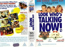 LOOK WHO'S TALKING NOW! - VHS - PAL - NEW - Never played! - Original Oz release
