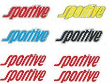 Vauxhall Sportive Vivaro Astra H Van Badge overlay Stickers Decals x4 any colour