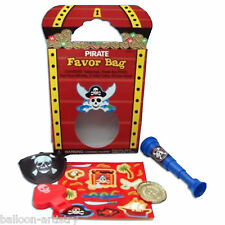 Pirate Children's Party Treasure Chest Pre-Filled Loot Gift Favour Pack Bag