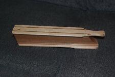 New listing Albert Paul Maple over Chestnut Paddle Box Call