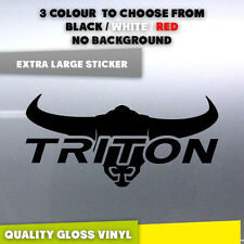 Extra Large Mitshubishi Triton Longhorn Ute Car Truck Sticker Decal 580mm long