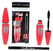 Maybelline The One By One Volume Mascara Glam Black + Khol Eyeliner Pencil Set