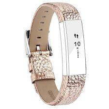 Fitbit Alta Strap Leather Band For Alta HR Adjustable Replacement Bracelet Spor