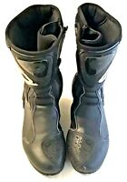 SIDI Motorcycle Boots Spell Out Mens Size 7.5 Black