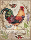 LANG Blessings Address Book Art by Susan Winget 3-ring binder 1013245 NEW