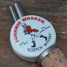 More details for vintage ceramic johnny walker whisky pourer dispenser cork. ex cond