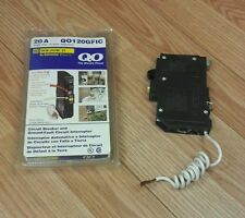 Square D (QO120GFIC) 1 Pole Circuit Breaker & Ground Fault Circuit Interrupter
