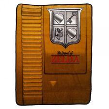 New Soft The Legend of Zelda Plush Throw Blanket GIFT Nintendo Video Game Link