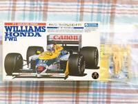 Gunze 1/24 Williams Honda FW11 w / Munsell style figure Plastic Model Car Kit