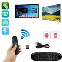 Mini 2.4G Remote Control Wireless Keyboard Air Mouse Android BOX TV Smart C6A9