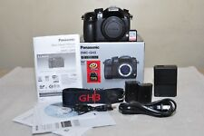 Panasonic LUMIX DMC-GH3 16.0MP - Black (Body Only) BOX + Extras_ Excellent!!