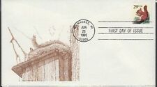 1993 Squirrel Self-adhesive on Richard DeSpain First Day Cover SC2489
