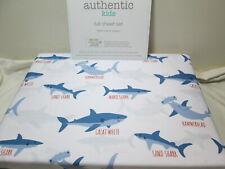 Authentic Full Sheet Set ~ Mako Shark, Sand Shark, Hammerhead, Great White Shark