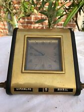 Horloge de bureau, date, made in Germany