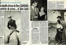 Coupure de Presse Clipping 1989 (4 pages) Rory Calhoun